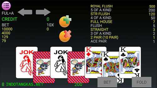 kartur royal flush bola tangkas